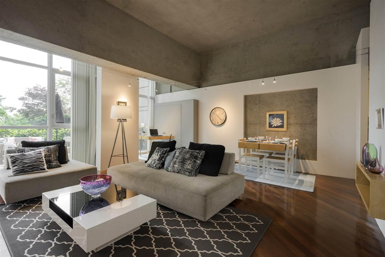 Condo Apartment at 101 1318 HOMER STREET, Unit 101, Vancouver West, British Columbia. Image 4
