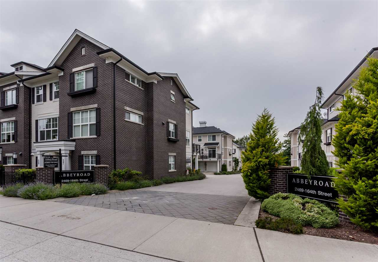 Townhouse at 64 2469 164 STREET, Unit 64, South Surrey White Rock, British Columbia. Image 2