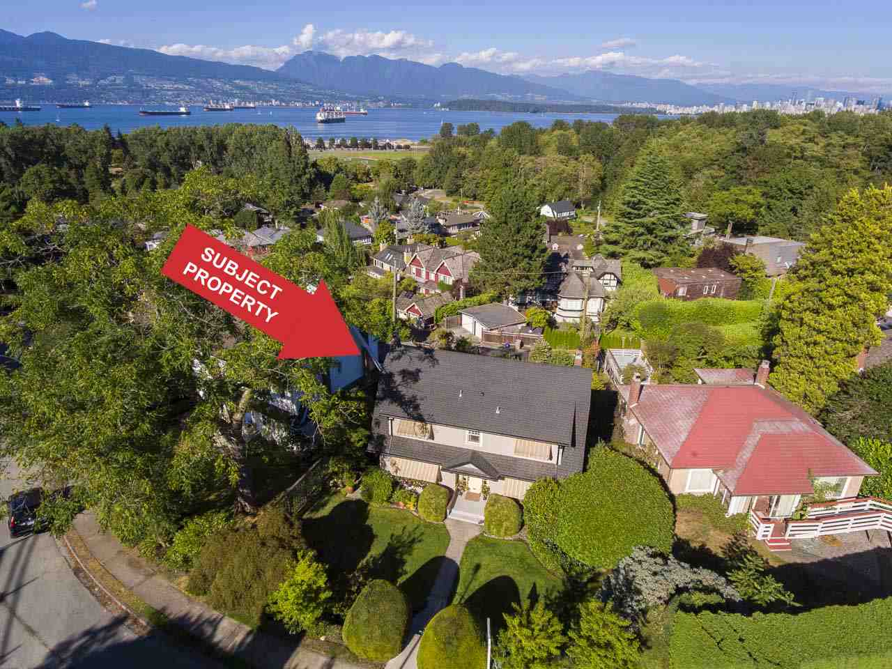 Detached at 4363 LOCARNO CRESCENT, Vancouver West, British Columbia. Image 1