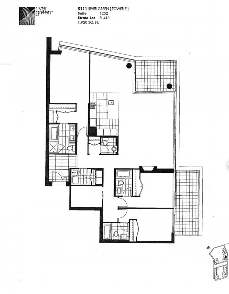 Condo Apartment at 1202 5111 BRIGHOUSE WAY, Unit 1202, Richmond, British Columbia. Image 6