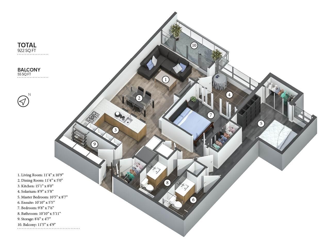 Condo Apartment at 310 1680 W 4TH AVENUE, Unit 310, Vancouver West, British Columbia. Image 20
