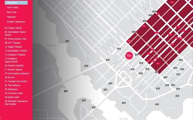 Condo Apartment at 3008 1283 HOWE STREET, Unit 3008, Vancouver West, British Columbia. Image 4