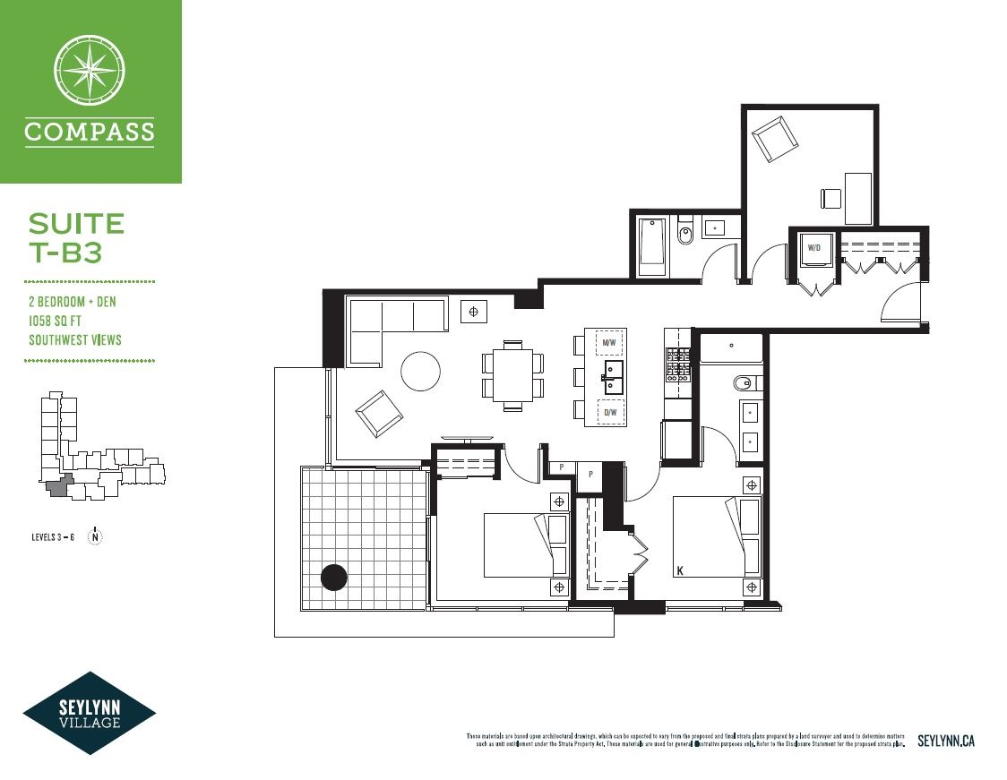 Condo Apartment at 506 680 SEYLYNN CRESCENT, Unit 506, North Vancouver, British Columbia. Image 2