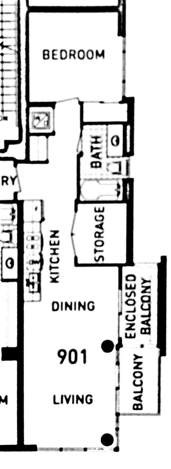 Condo Apartment at 901 89 W 2ND AVENUE, Unit 901, Vancouver West, British Columbia. Image 3