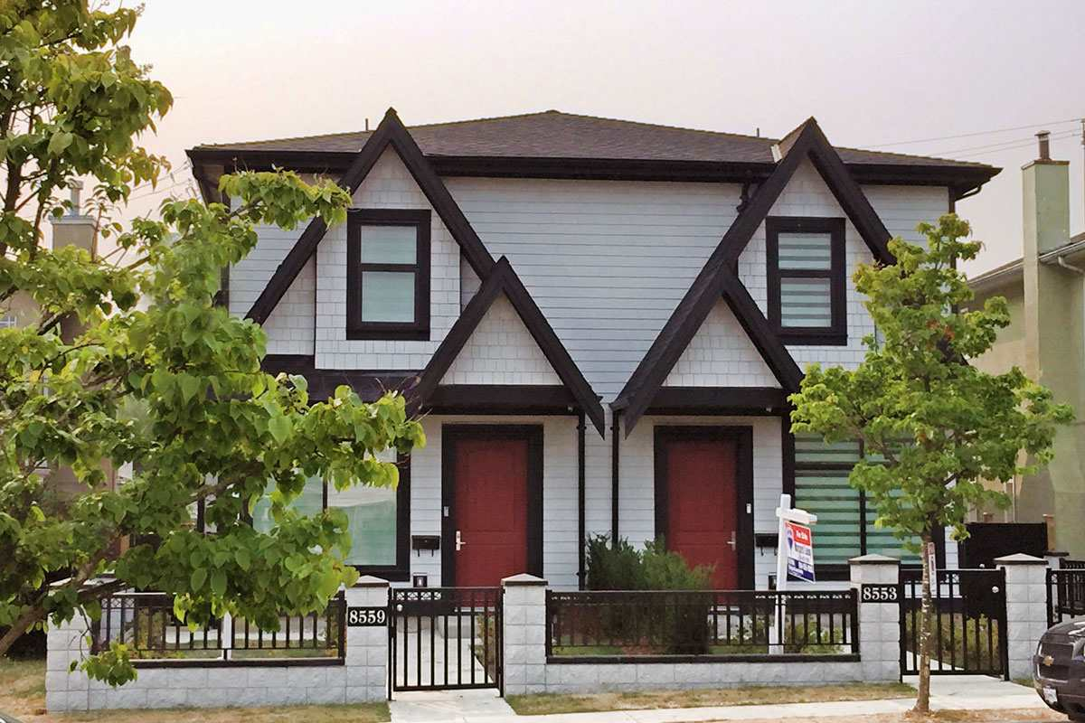 Half-duplex at 8553 MONTCALM STREET, Vancouver West, British Columbia. Image 1