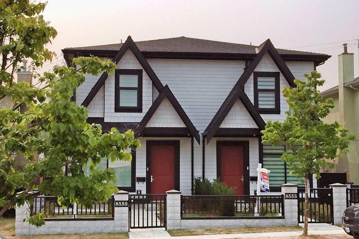 Half-duplex at 8559 MONTCALM STREET, Vancouver West, British Columbia. Image 1