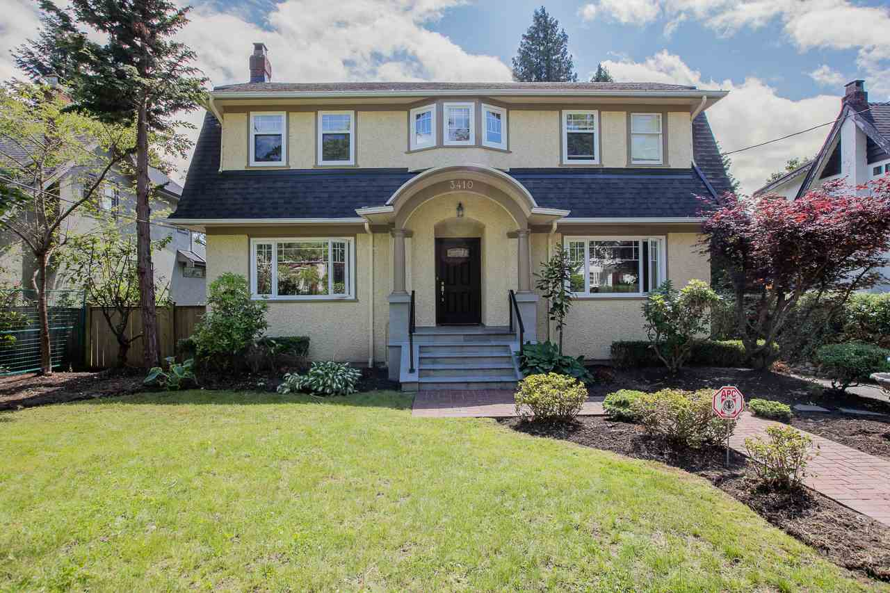 Detached at 3410 W 42ND AVENUE, Vancouver West, British Columbia. Image 1