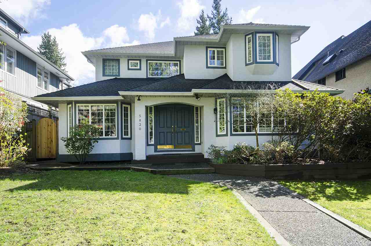 Detached at 5830 ALMA STREET, Vancouver West, British Columbia. Image 1