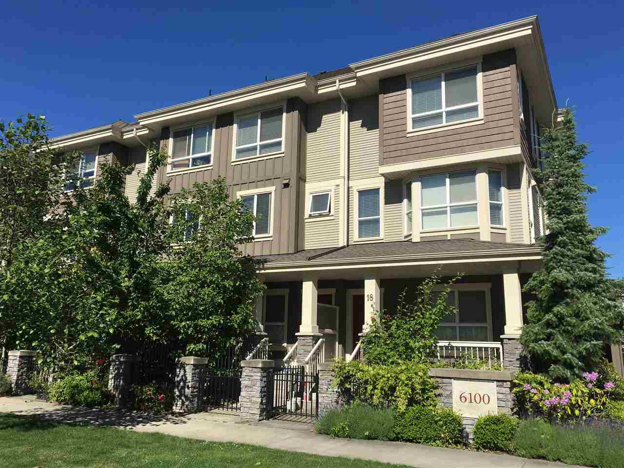 Townhouse at 17 6100 ALDER STREET, Unit 17, Richmond, British Columbia. Image 1