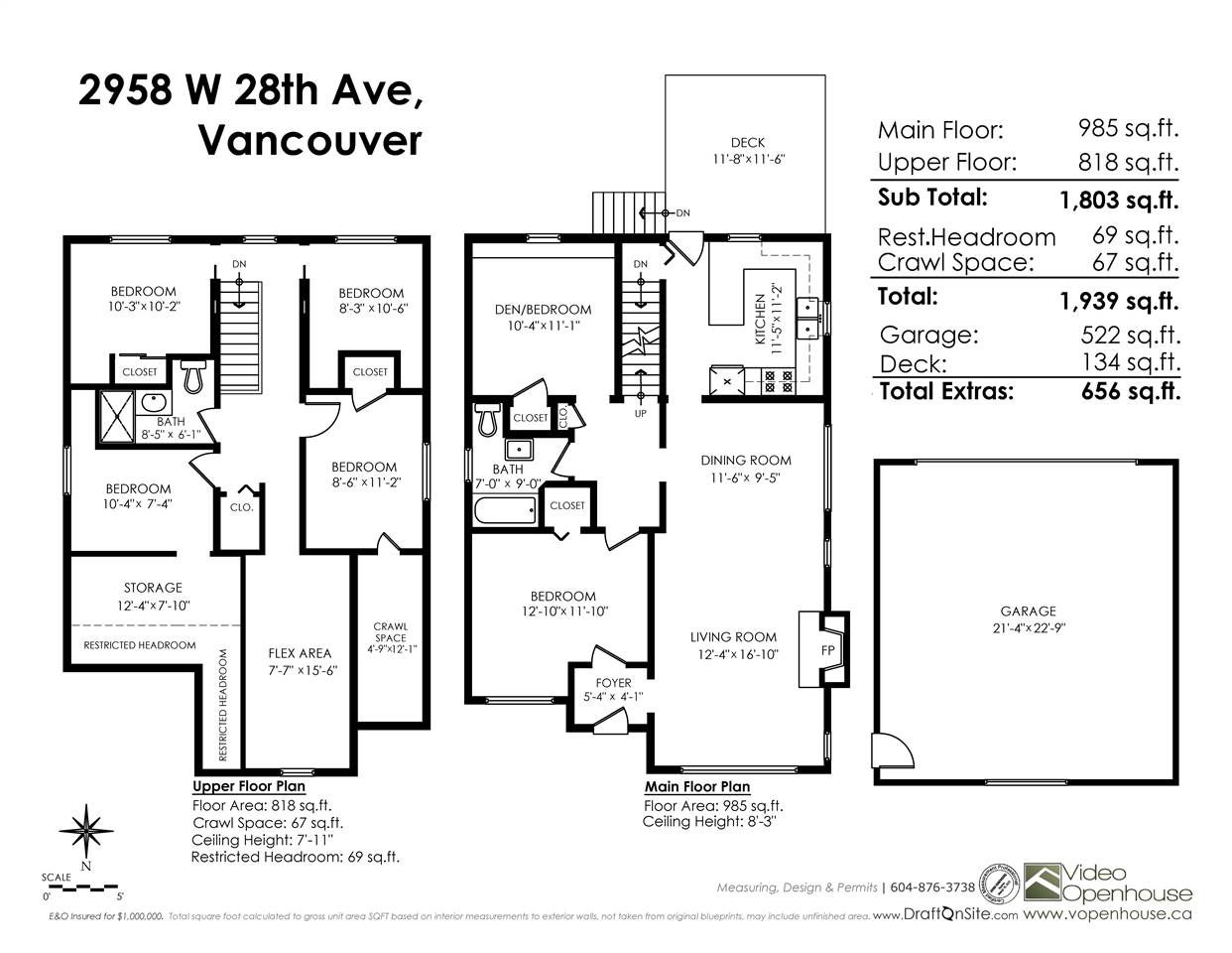 Detached at 2958 W 28TH AVENUE, Vancouver West, British Columbia. Image 20
