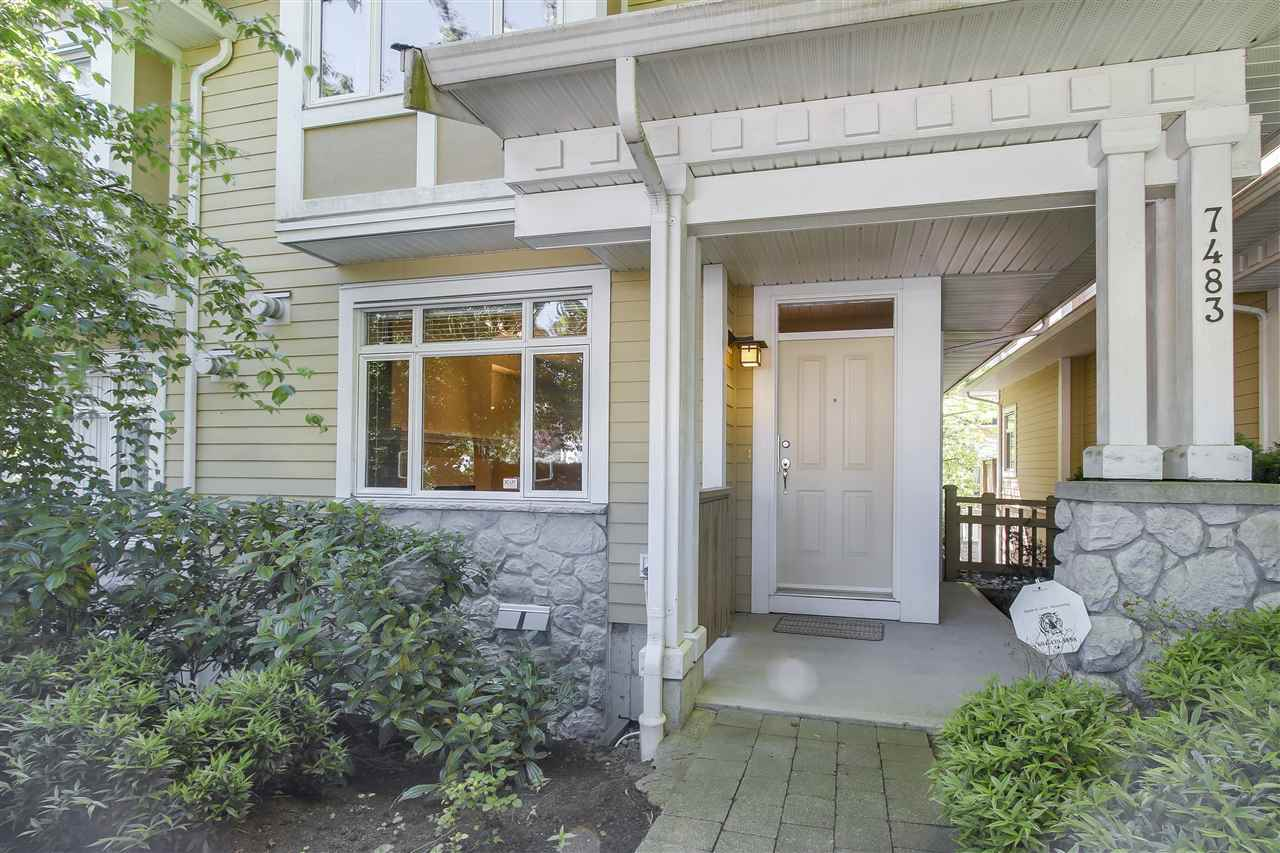 Townhouse at 7483 LAUREL STREET, Vancouver West, British Columbia. Image 2
