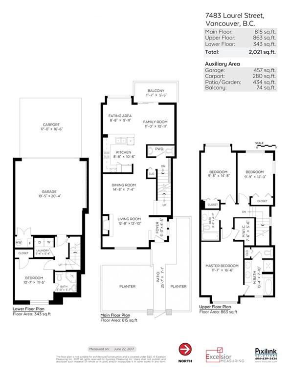 Townhouse at 7483 LAUREL STREET, Vancouver West, British Columbia. Image 20