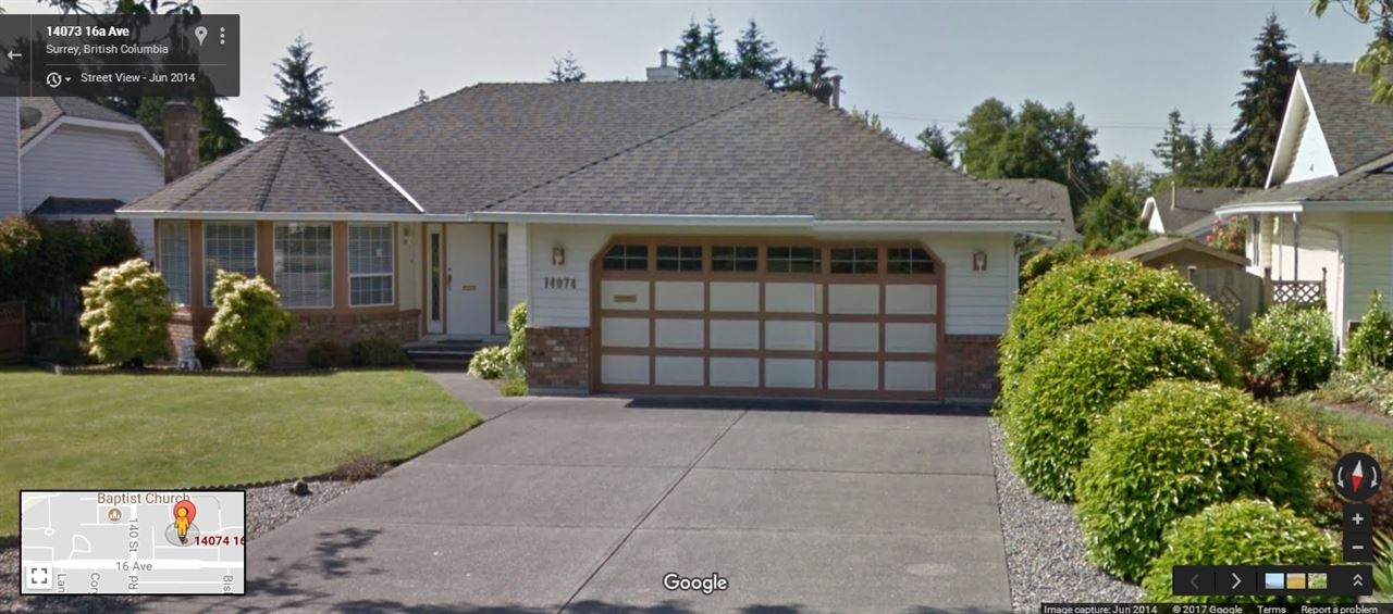 Detached at 14074 16A AVENUE, South Surrey White Rock, British Columbia. Image 1