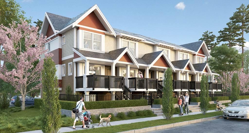 Townhouse at 54 32633 SIMON AVENUE, Unit 54, Abbotsford, British Columbia. Image 4