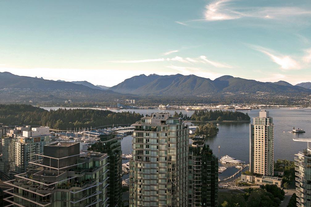 Condo Apartment at PH5 1288 W GEORGIA STREET, Unit PH5, Vancouver West, British Columbia. Image 10