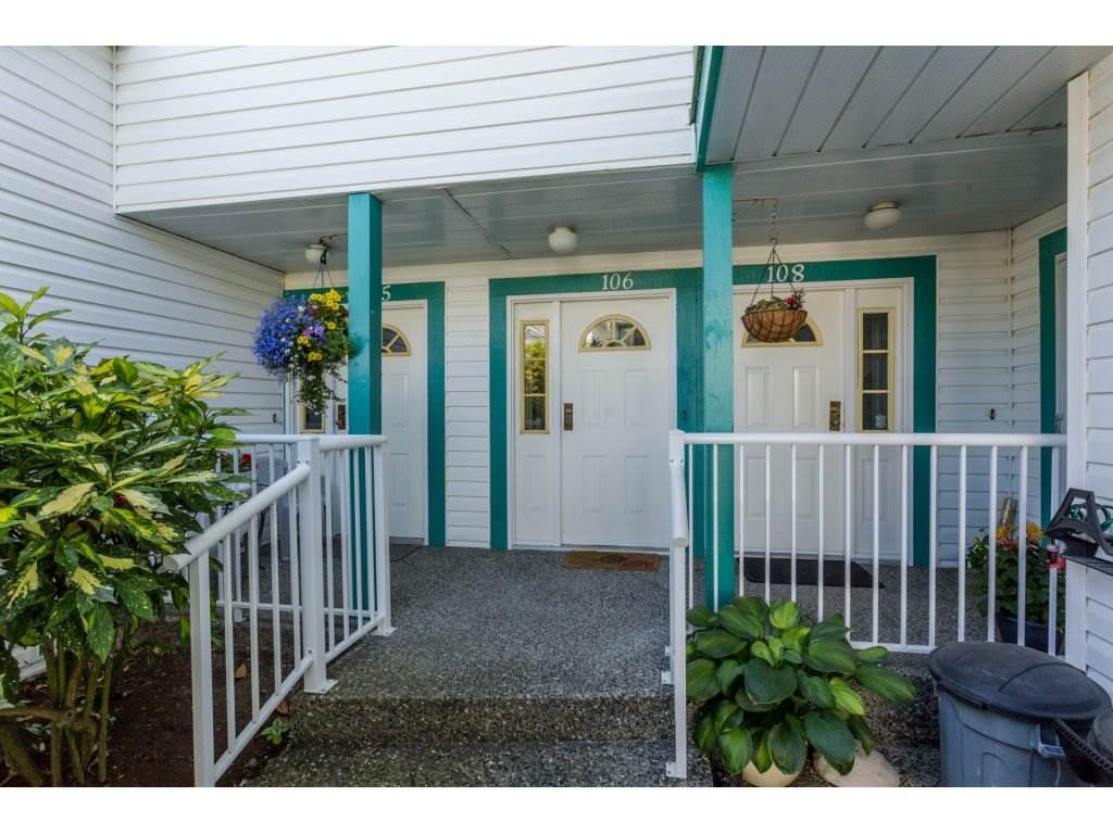 Townhouse at 106 21937 48 AVENUE, Unit 106, Langley, British Columbia. Image 1