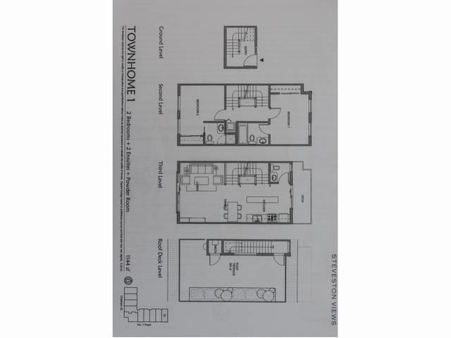 Townhouse at 1 3993 CHATHAM STREET, Unit 1, Richmond, British Columbia. Image 18
