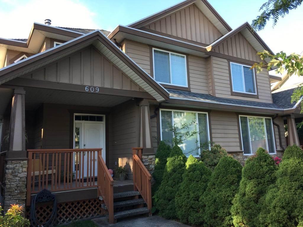 Half-duplex at 609 LANGSIDE AVENUE, Coquitlam, British Columbia. Image 1