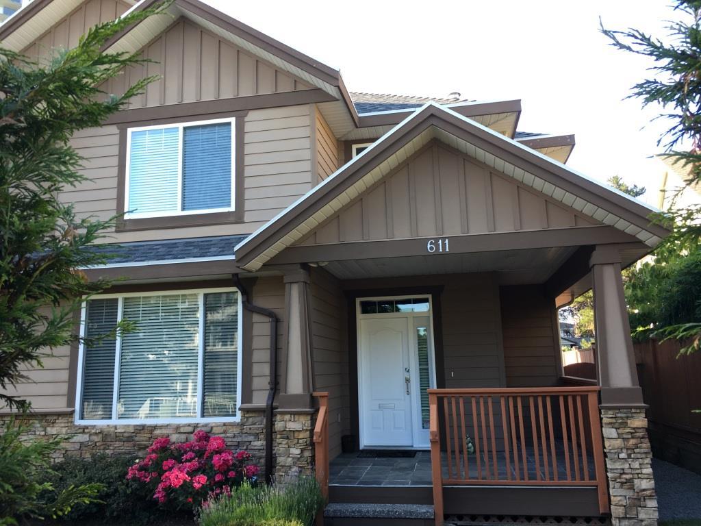 Half-duplex at 611 LANGSIDE AVENUE, Coquitlam, British Columbia. Image 1