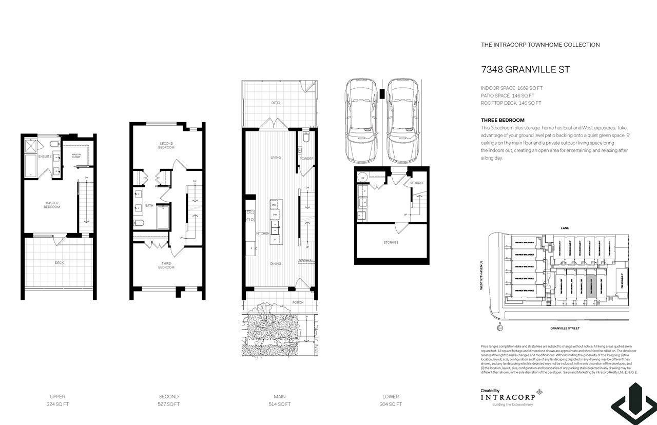 Townhouse at 7348 GRANVILLE STREET, Vancouver West, British Columbia. Image 3