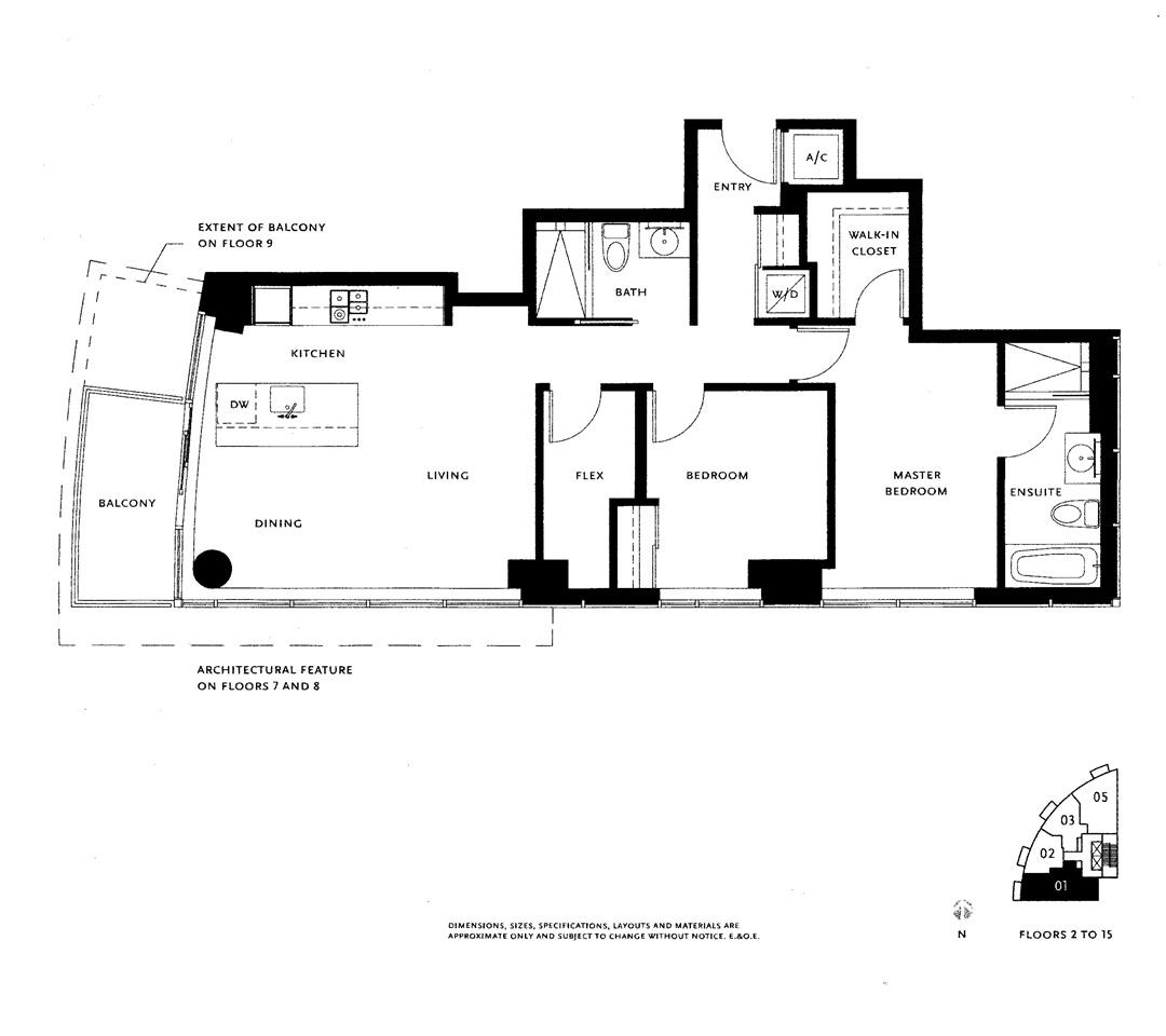 Condo Apartment at 701 1565 W 6TH AVENUE, Unit 701, Vancouver West, British Columbia. Image 20