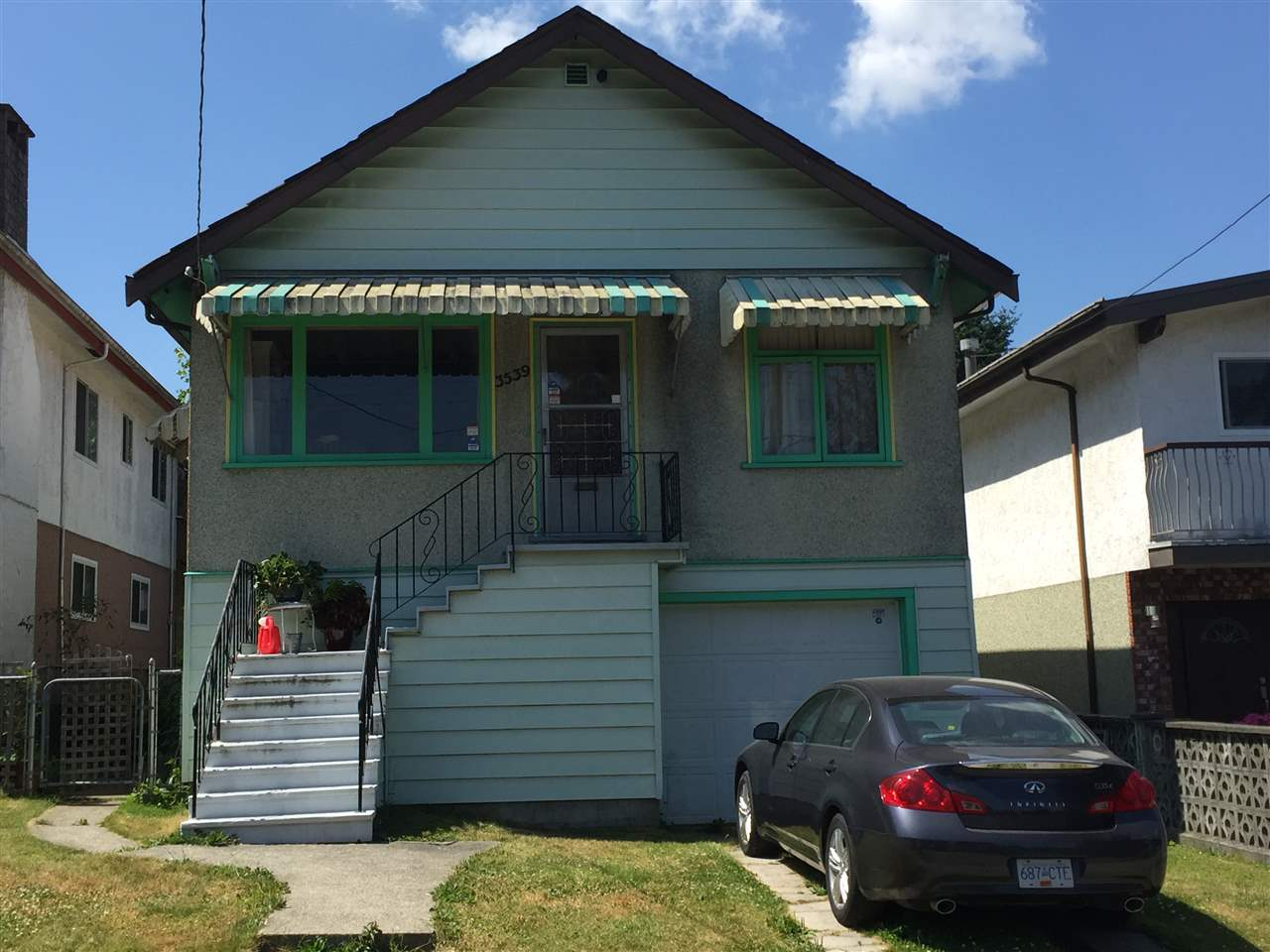 Detached at 3539 HULL STREET, Vancouver East, British Columbia. Image 1