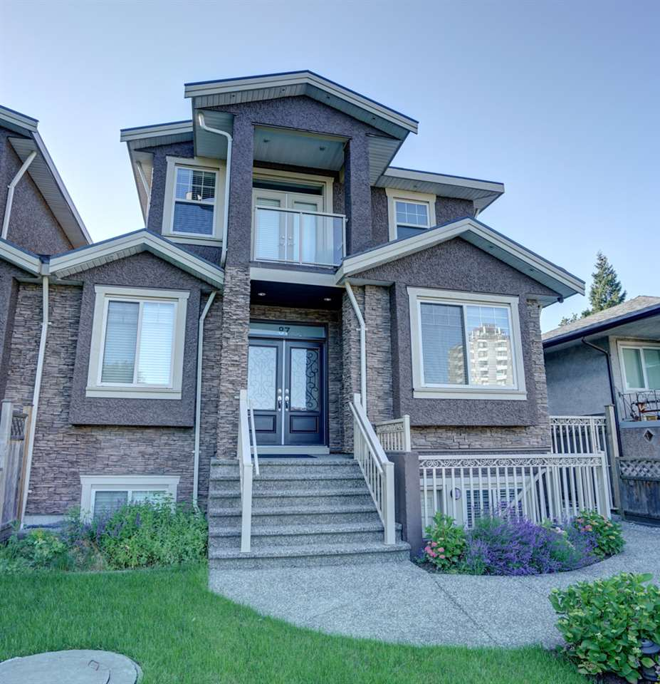 Half-duplex at 87 GLOVER AVENUE, New Westminster, British Columbia. Image 1