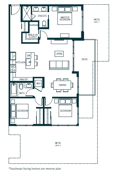 Condo Apartment at 508 1012 AUCKLAND STREET, Unit 508, New Westminster, British Columbia. Image 12