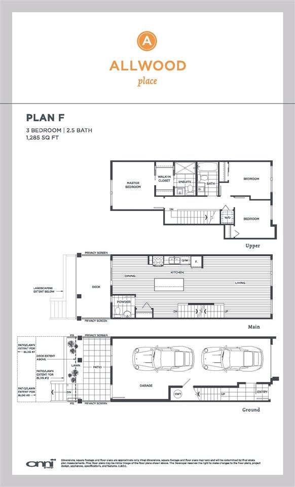 Townhouse at 25 32633 SIMON AVENUE, Unit 25, Abbotsford, British Columbia. Image 6