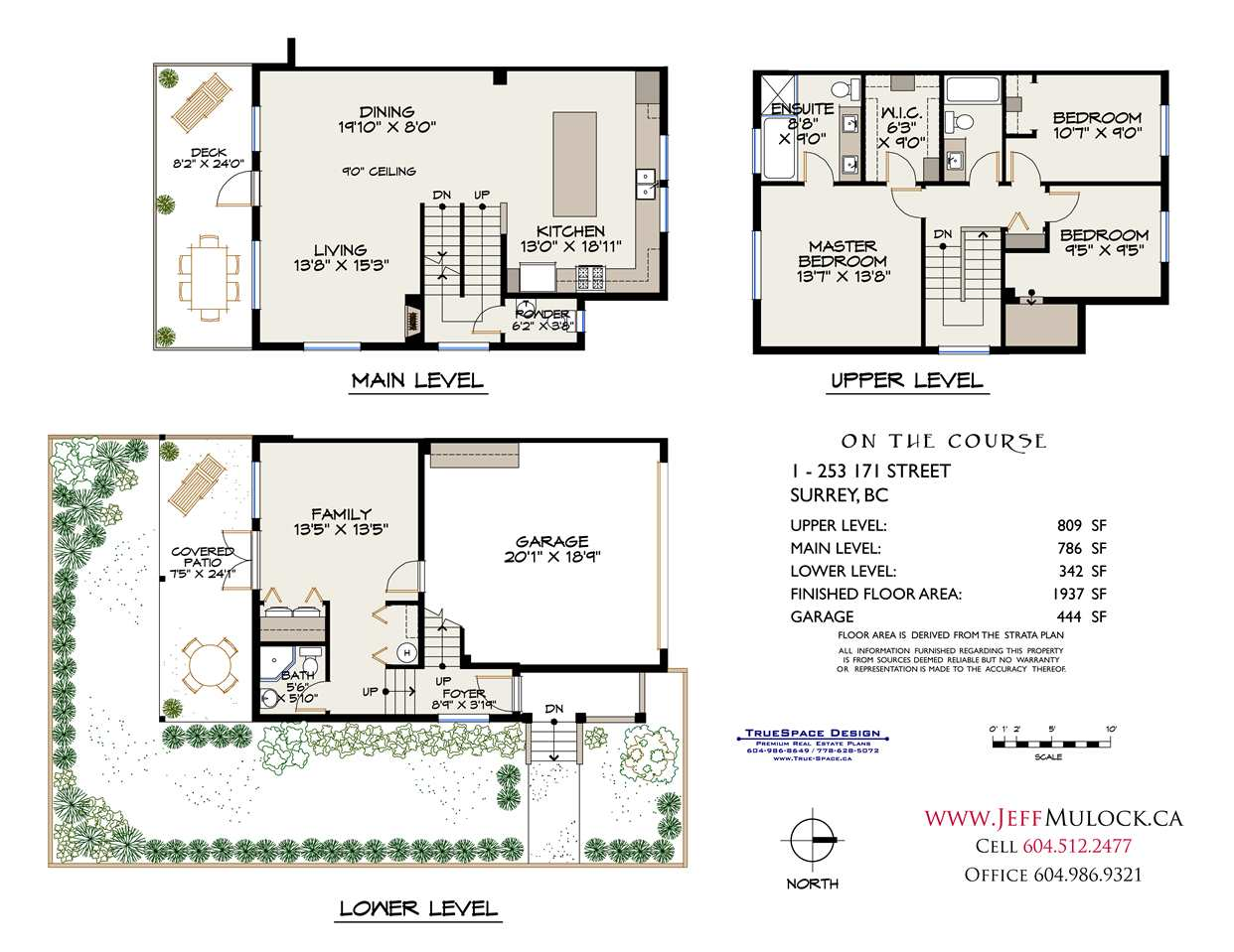 Townhouse at 1 253 171 STREET, Unit 1, South Surrey White Rock, British Columbia. Image 20