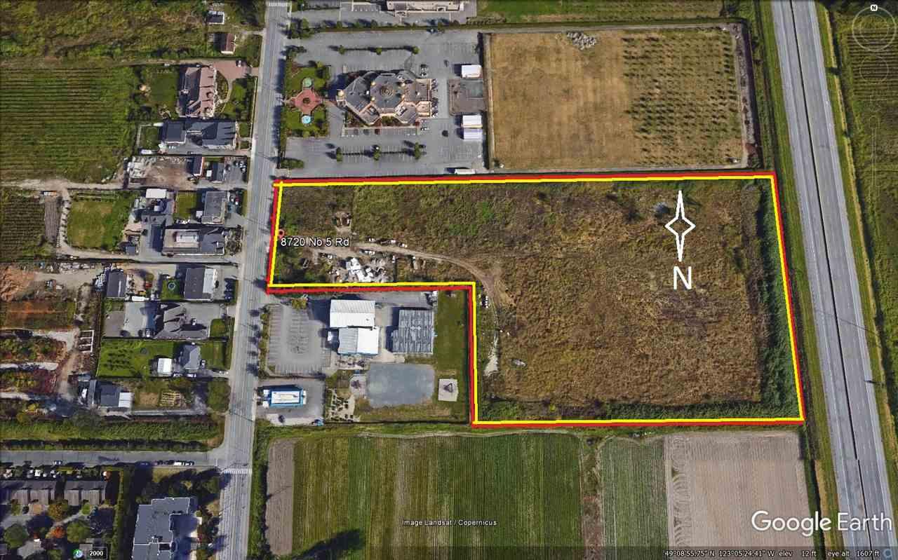 Vacant Land at 8720 NO. 5 ROAD, Richmond, British Columbia. Image 1