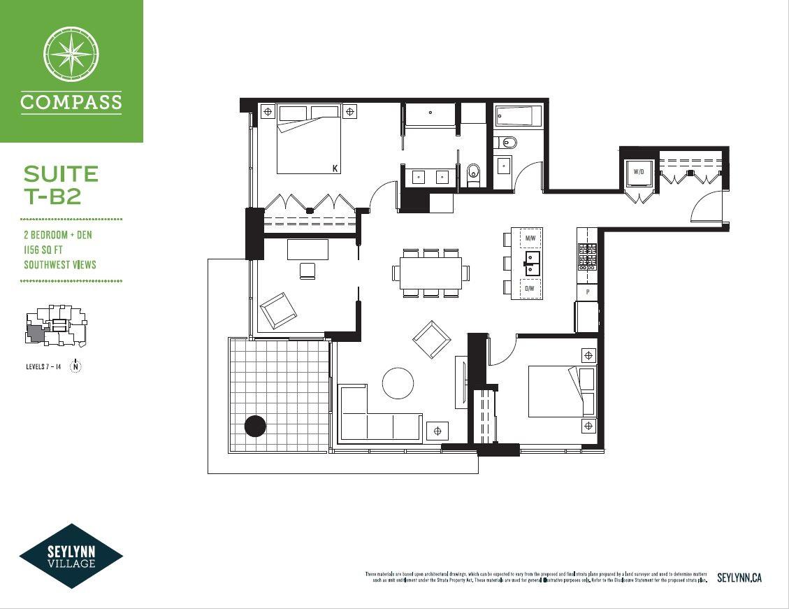 Condo Apartment at 706 680 SEYLYNN CRESCENT, Unit 706, North Vancouver, British Columbia. Image 2