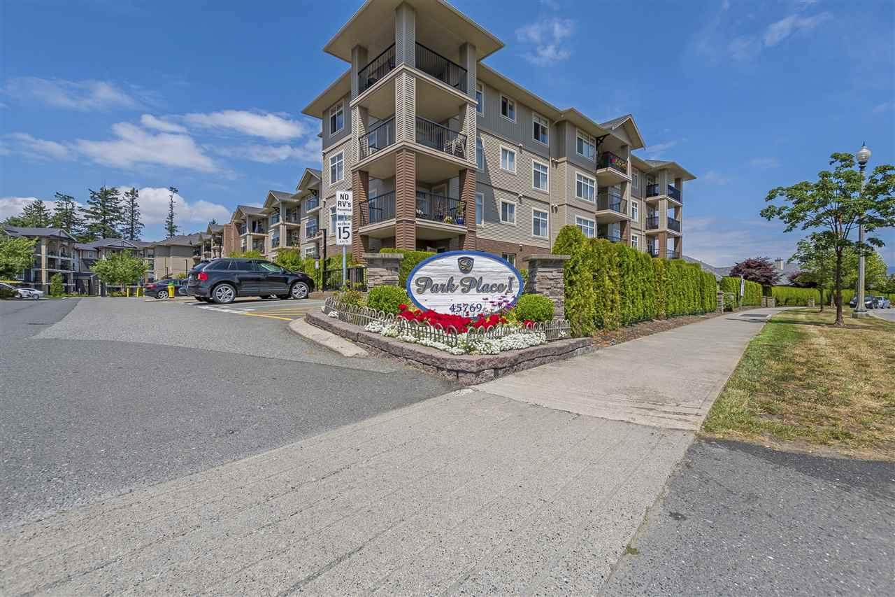 Condo Apartment at 307 45769 STEVENSON ROAD, Unit 307, Sardis, British Columbia. Image 1