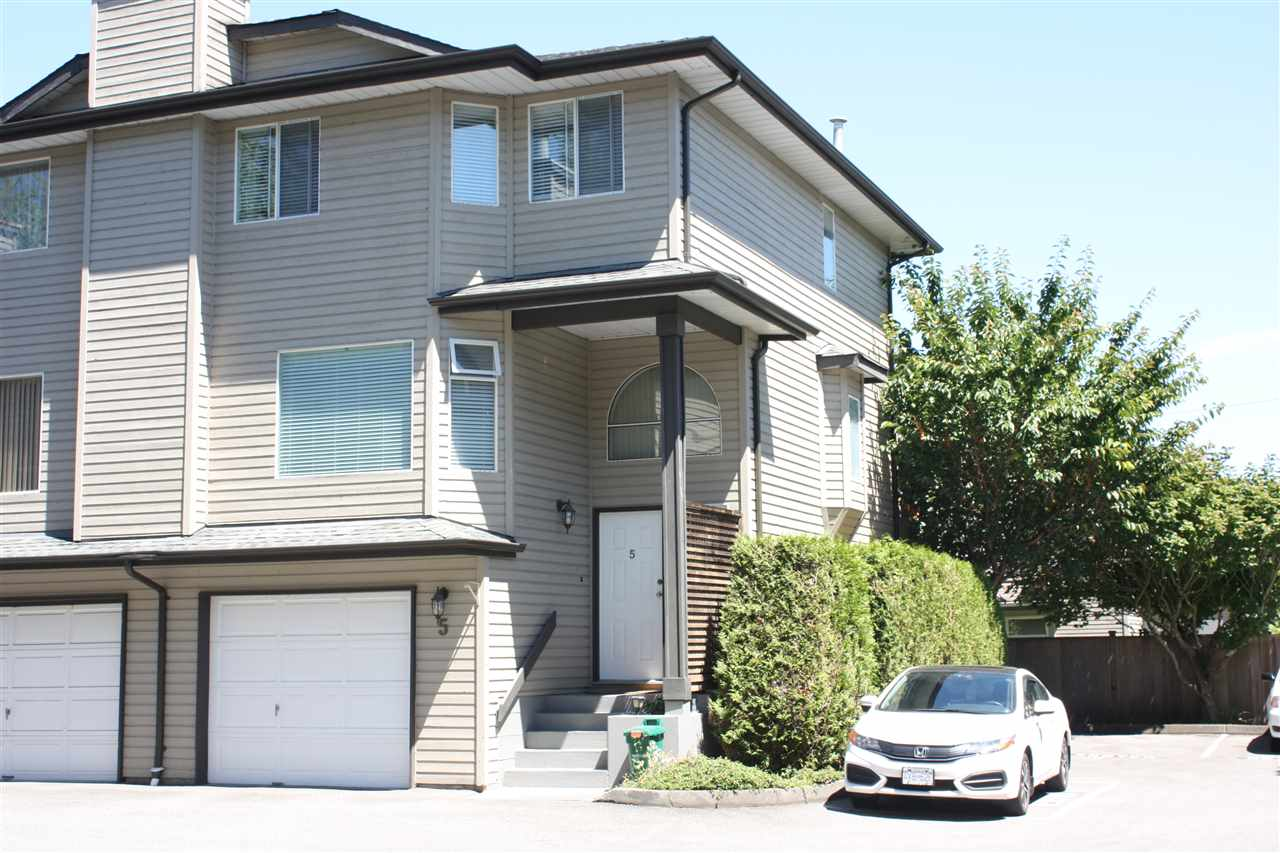 Townhouse at 5 8751 BENNETT ROAD, Unit 5, Richmond, British Columbia. Image 1