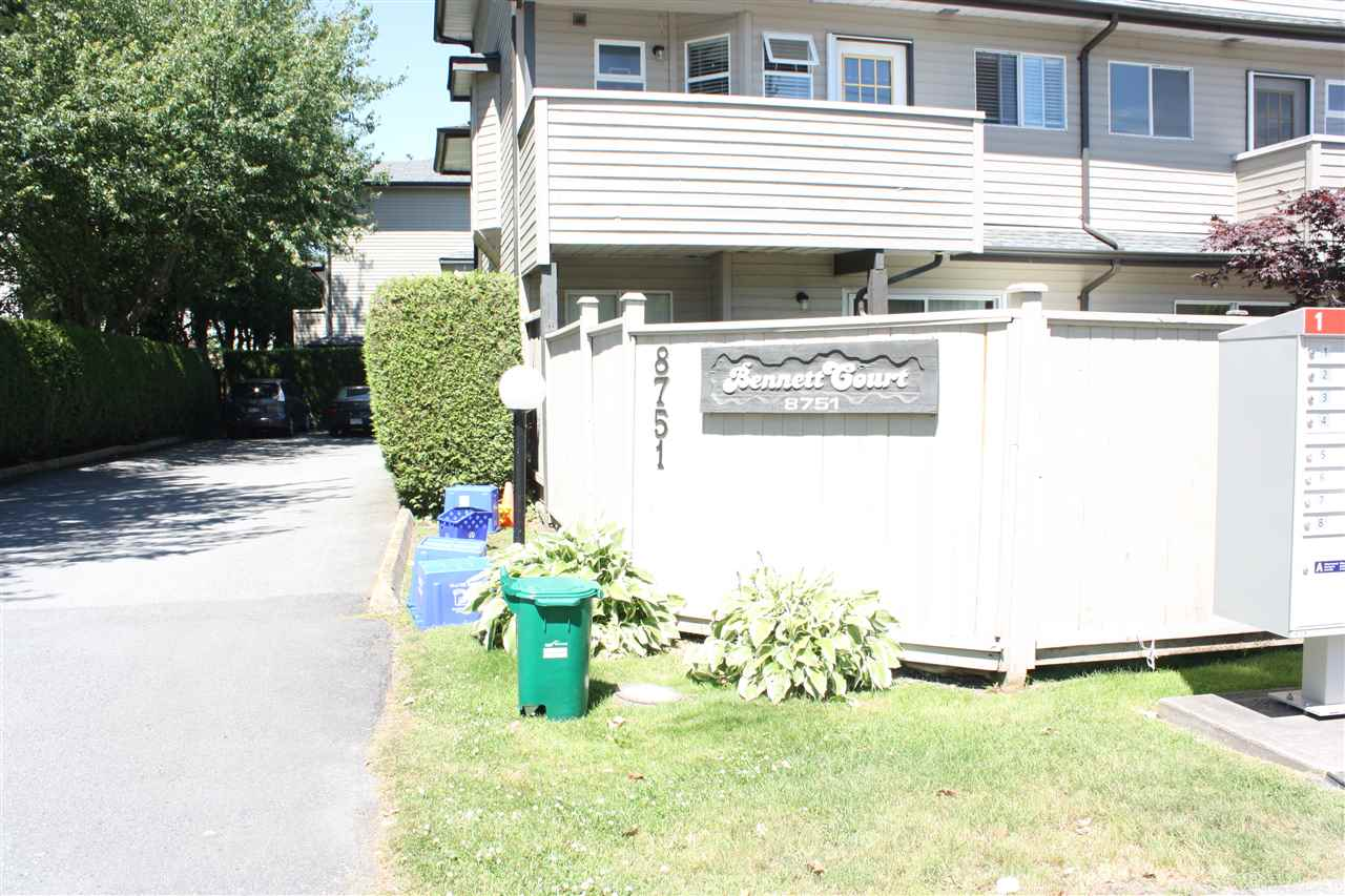 Townhouse at 5 8751 BENNETT ROAD, Unit 5, Richmond, British Columbia. Image 2