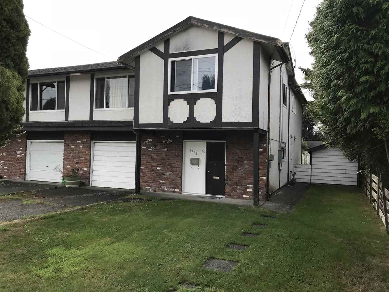 Half-duplex at 5732 GROVE AVENUE, Ladner, British Columbia. Image 1