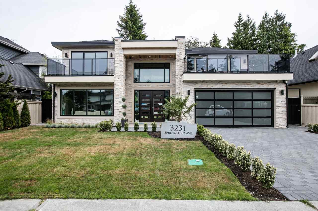 Detached at 3231 SPRINGFORD AVENUE, Richmond, British Columbia. Image 1