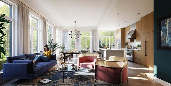 Condo Apartment at 101 388 W KING EDWARD AVENUE, Unit 101, Vancouver West, British Columbia. Image 2