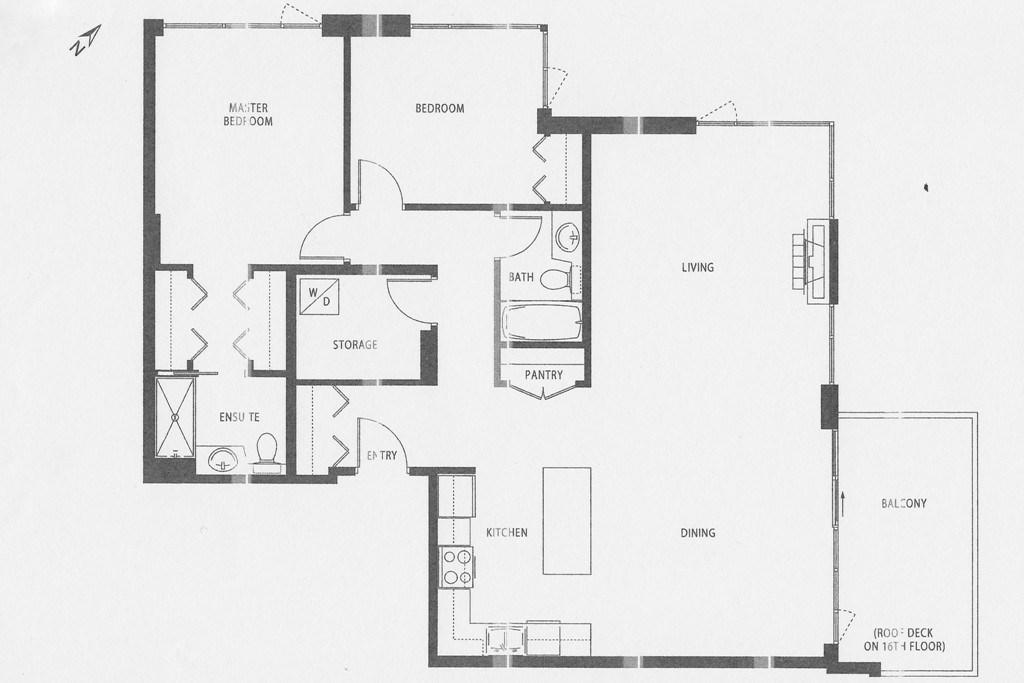 Condo Apartment at 1803 720 HAMILTON STREET, Unit 1803, New Westminster, British Columbia. Image 17