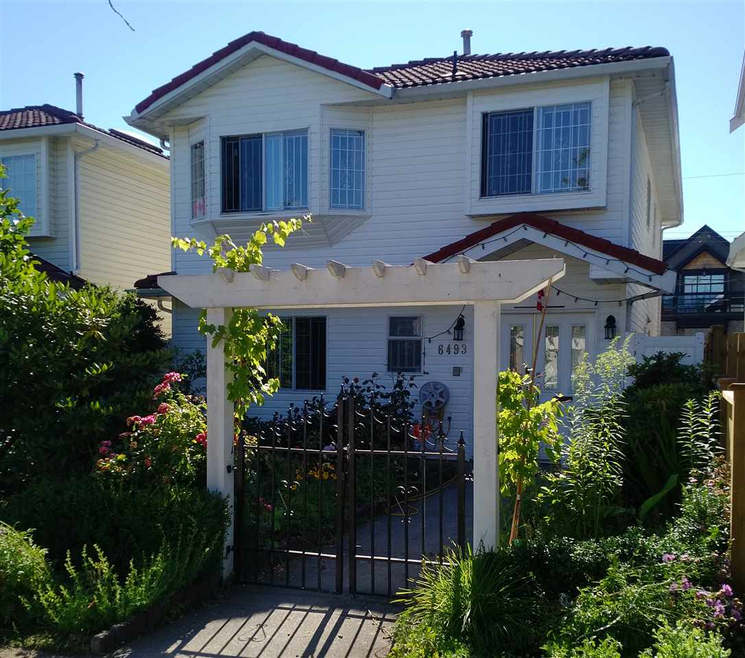 Detached at 6493 SOPHIA STREET, Vancouver East, British Columbia. Image 1