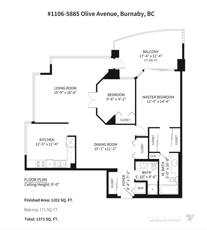Condo Apartment at 1106 5885 OLIVE AVENUE, Unit 1106, Burnaby South, British Columbia. Image 20