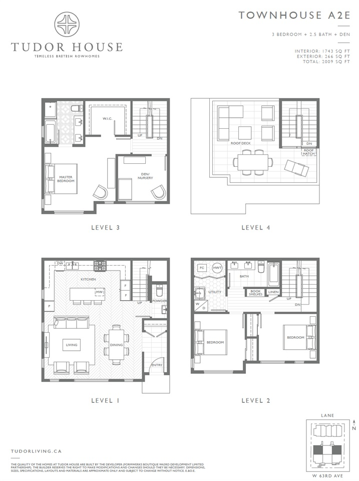 Townhouse at SL 12 459 W 63RD AVENUE, Unit SL 12, Vancouver West, British Columbia. Image 6