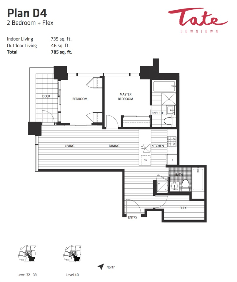 Condo Apartment at 4004 1283 HOWE STREET, Unit 4004, Vancouver West, British Columbia. Image 2