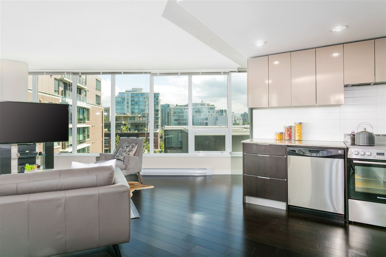 Condo Apartment at 604 445 W 2ND AVENUE, Unit 604, Vancouver West, British Columbia. Image 5