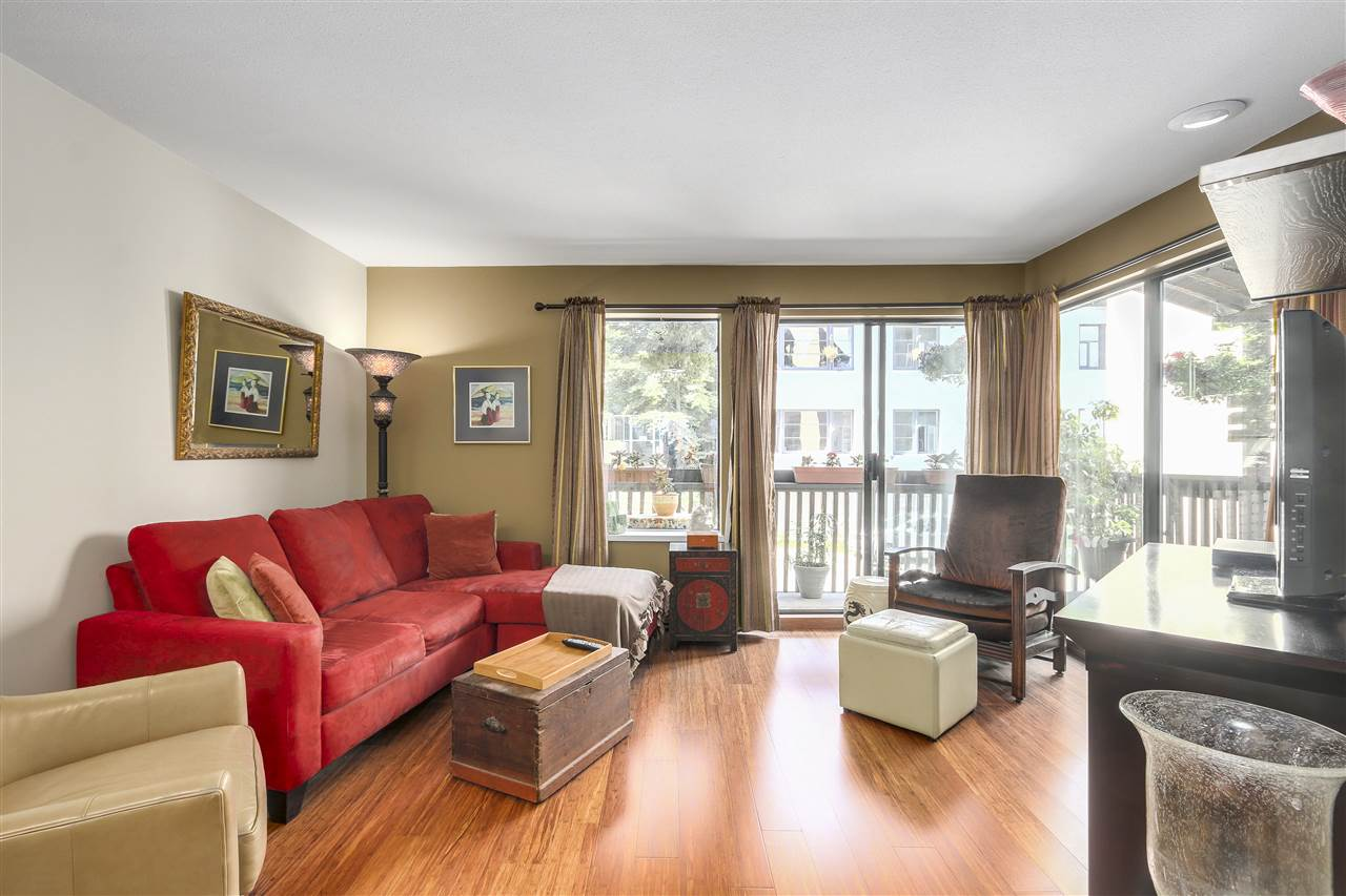 Condo Apartment at 103 1274 BARCLAY STREET, Unit 103, Vancouver West, British Columbia. Image 3