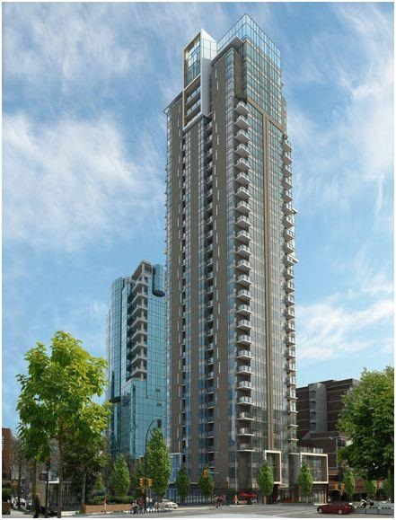Condo Apartment at 1502 1308 HORNBY STREET, Unit 1502, Vancouver West, British Columbia. Image 2