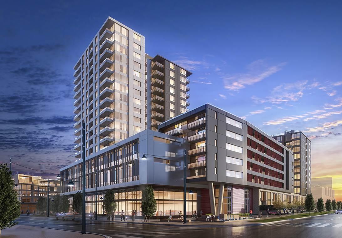 Condo Apartment at 1701 8533 RIVER DISTRICT CROSSING, Unit 1701, Vancouver East, British Columbia. Image 1