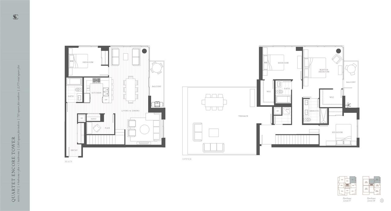 Condo Apartment at 1701 8533 RIVER DISTRICT CROSSING, Unit 1701, Vancouver East, British Columbia. Image 6