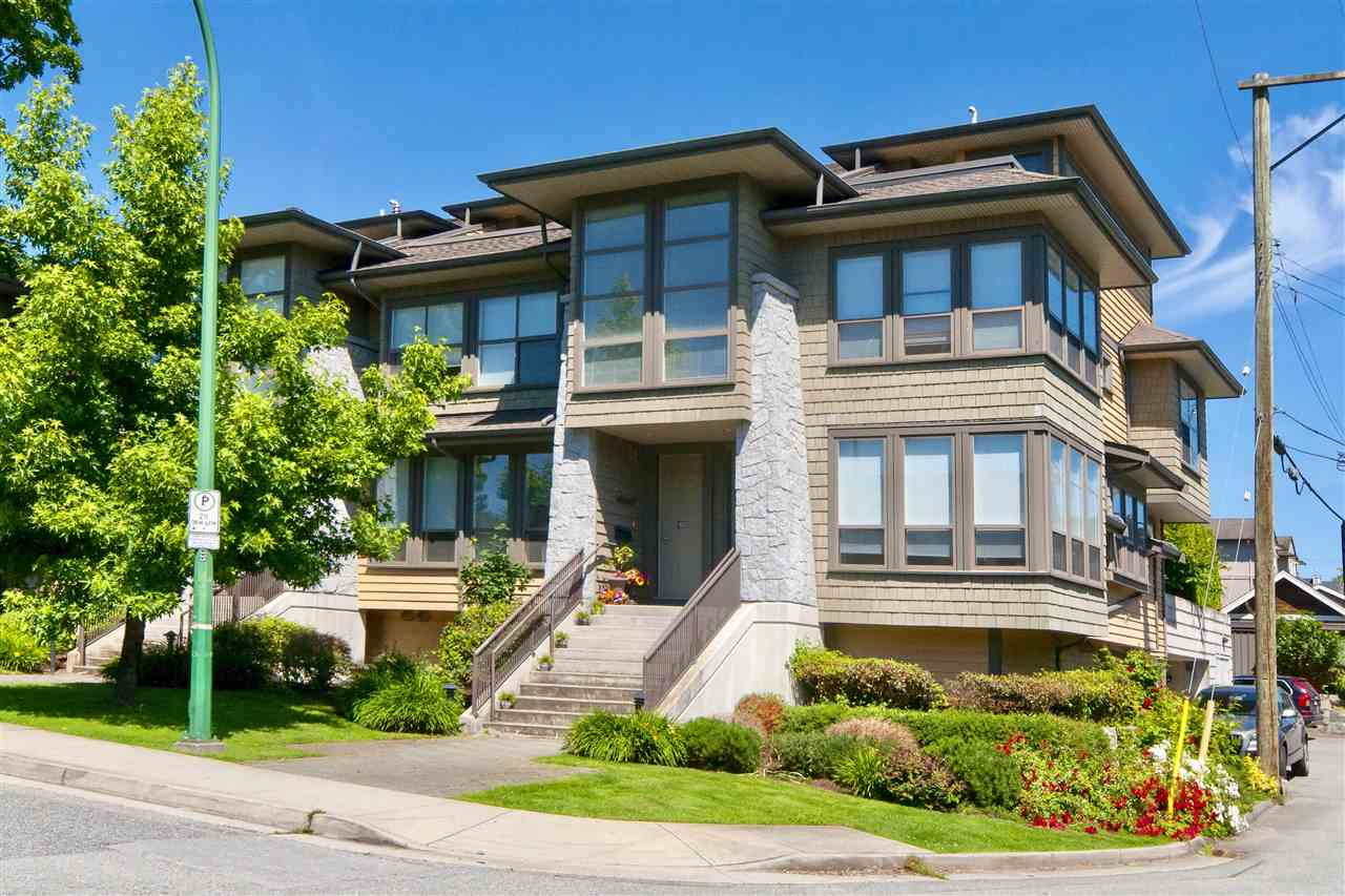 Townhouse at 1650 ST. GEORGES AVENUE, North Vancouver, British Columbia. Image 1