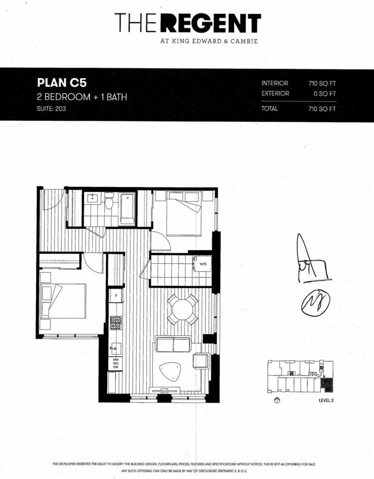 Condo Apartment at 203 523 W KING EDWARD AVENUE, Unit 203, Vancouver West, British Columbia. Image 5